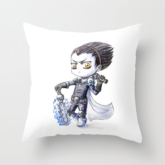 Death Knight Throw Pillow