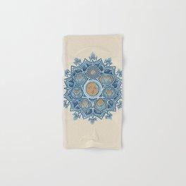 Alyson Anahata Seven Chakra Sun Flower Mandala 1 Hand & Bath Towel
