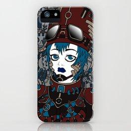 Anime girl Robot iPhone Case