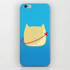 CatStronaut Emblem iPhone & iPod Skin