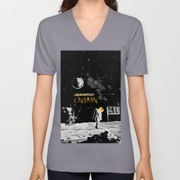 CaveMoon by Caveman Clothing Co. Unisex V-Neck
