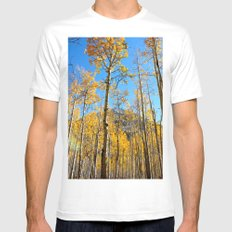 Enchiladas in the Trees 2 White Mens Fitted Tee MEDIUM