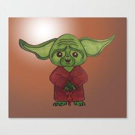 green dude Canvas Print