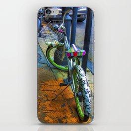 NOLA bike. iPhone Skin