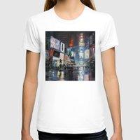 broadway T-shirts featuring Nights on Broadway by Scott Grabowski