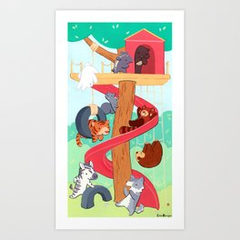 Playdate Art Print