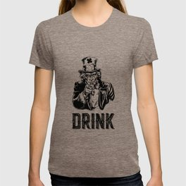 Irish Uncle Sam Drink St Patricks Day Drinking Cool T-shirt