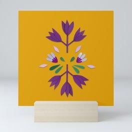 paper flower color Mini Art Print