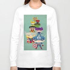 avengers 2 fan art Long Sleeve T-shirt
