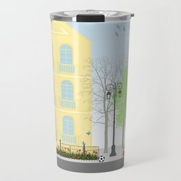 Urban scene Travel Mug