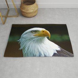 American Bald Eagle Head Rug