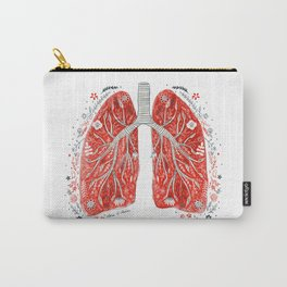 folky lungs Carry-All Pouch