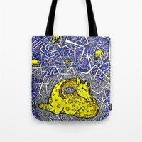 constellation Tote Bags featuring Constellation by Madame Mim