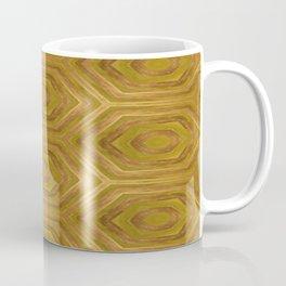 Golden - Cooper Geometric Abstract Coffee Mug