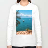 boats Long Sleeve T-shirts featuring Boats by Mauricio Santana