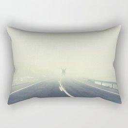 INTO THE FOG Rectangular Pillow