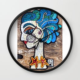 Mira Mosaic Wall Clock