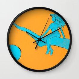 Nature's Respite Wall Clock