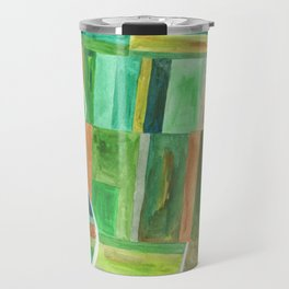 Land Aerial View Travel Mug