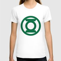 green lantern T-shirts featuring Green Lantern  by Evan Krushelnycky