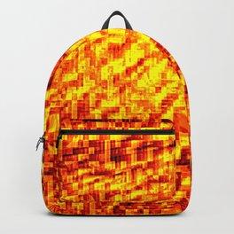 Golden Pixel Wind Backpack