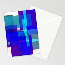 Squares combined no. 3 Stationery Cards