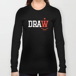 DRAW Long Sleeve T-shirt