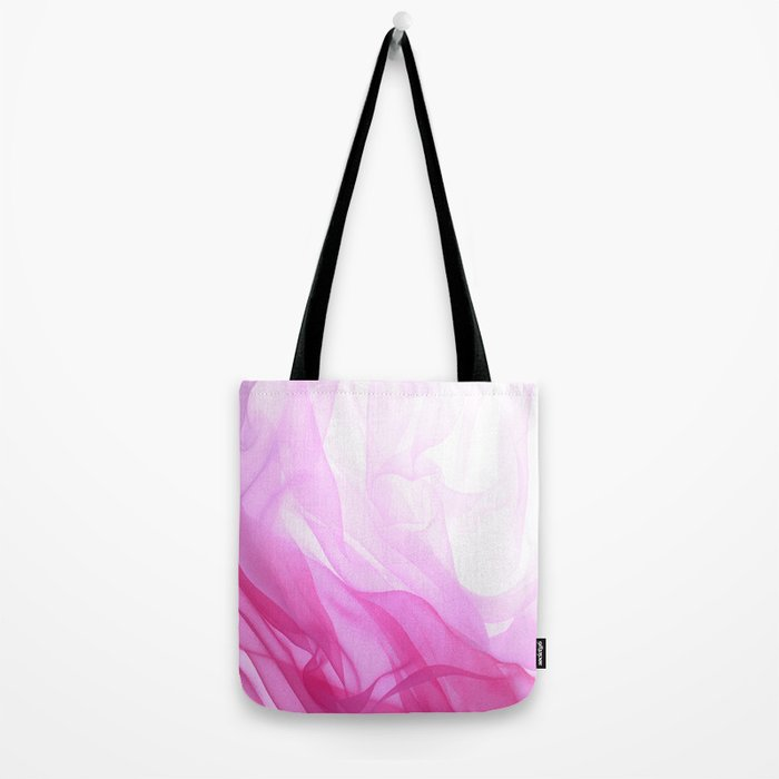 Pink Tulle Tote Bag