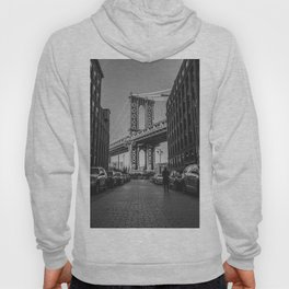New York City Bridge (Black and White) Hoody