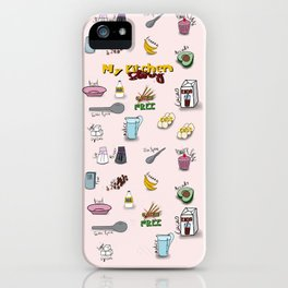 My kitchen story iPhone Case