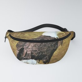 American Bald Eagle Fanny Pack
