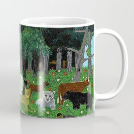African American Masterpiece 'Holy Mountain III' by Horace Pippin Coffee Mug