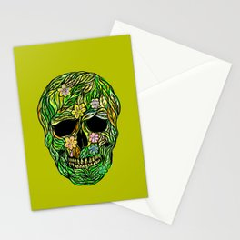 Skull Nature Stationery Cards