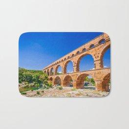 Pont du Gard, Provence Bath Mat