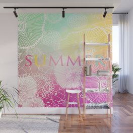 FESTIVAL PRISMATIC SUMMER RAINBOW Wall Mural