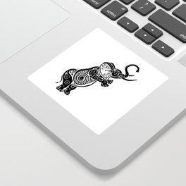 Jeweled Elephant Sticker