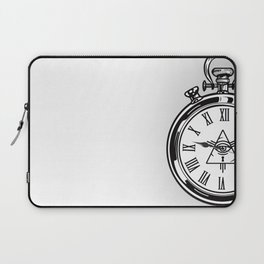 Time Waits For No One Laptop Sleeve