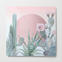 Desert Sunset by Nature Magick Metal Print