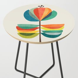 Whimsical Bloom Side Table