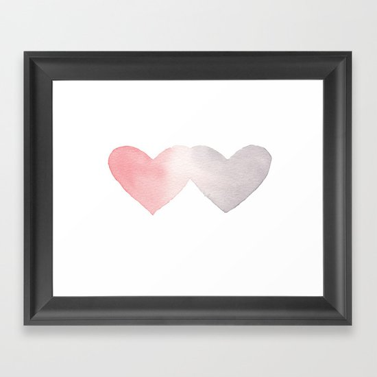 Commingle Framed Art Print
