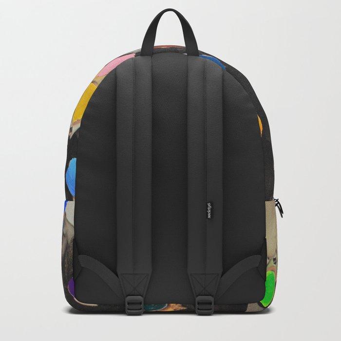 Rainbow people Backpack