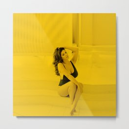Lucy Pinder - Celebrity (Hot Celebrity) (Photographic Art) Metal Print