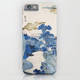 Mount fuji japon from Utagawa Kuniyoshi iPhone Case
