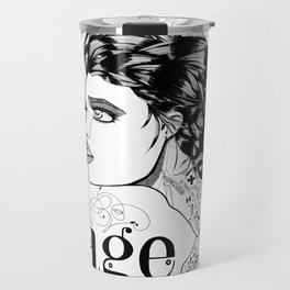 My body is a cage Travel Mug