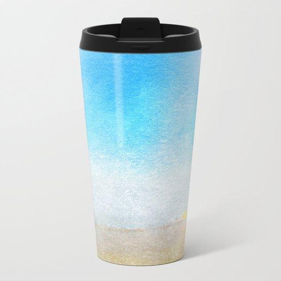 Tropical Sea #6 Metal Travel Mug