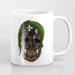 Plant Skull Coffee Mug