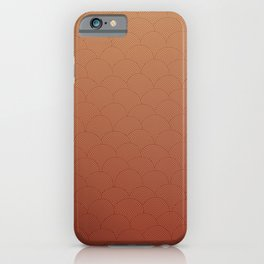 Circles 11 iPhone Case