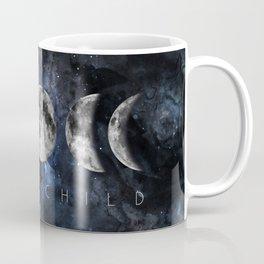 Moon Child Luna Watercolor Coffee Mug