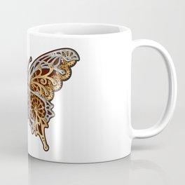 Clockwork Butterfly Coffee Mug