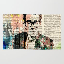 ELVIS COSTELLO #on dictionary page Rug